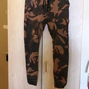 Army cotton stretch jogger pants